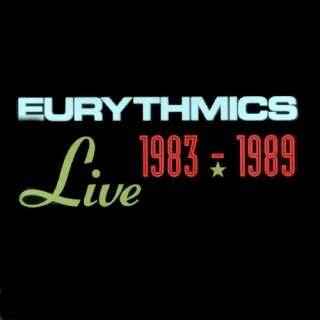 Eurythmics. Live 1983-1989 cover